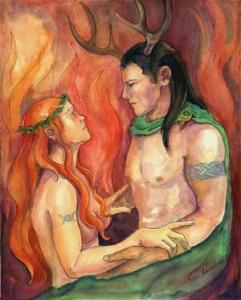 Horned-God-couple